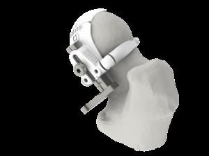 Support à usage unique de bloc decoupe pour Prothèse Totale de Hanche (PTH)
