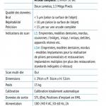 Spécifications techniques du scanner Imetric utilisé par OneOrtho
